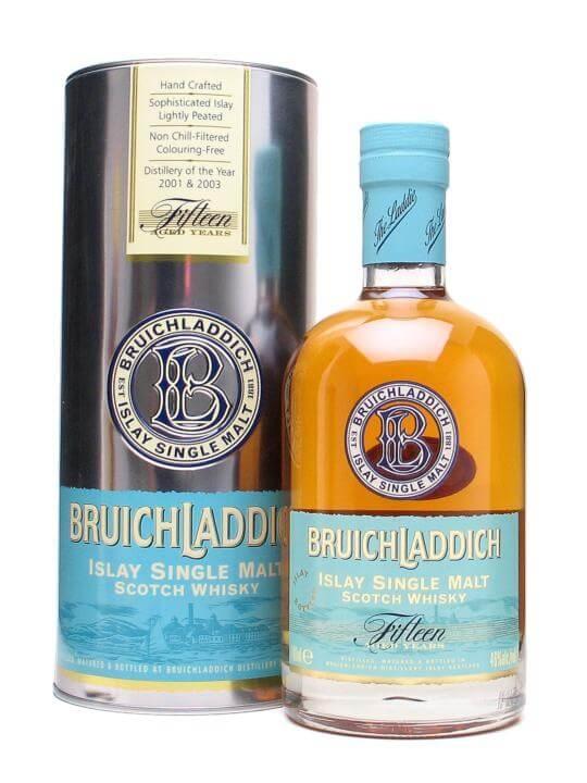 Bruichladdich 15 Year Old / 1st Edition Islay Whisky