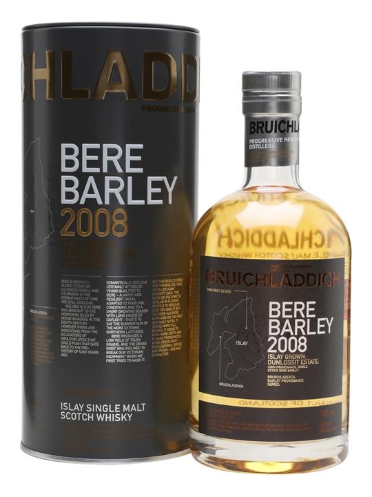 Bruichladdich Bere Barley 2008 / 6 Year Old Islay Whisky