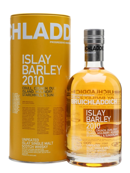 Bruichladdich Islay Barley 2010 / 6 Year Old Islay Whisky