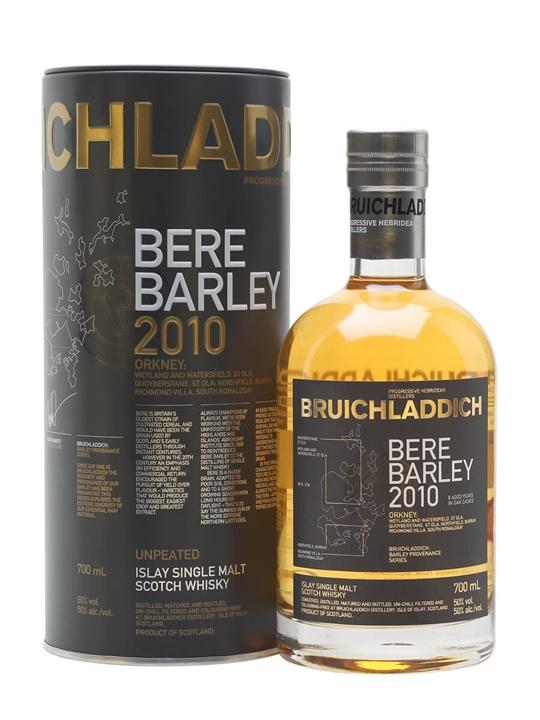 Bruichladdich Bere Barley 2010 Islay Single Malt Scotch Whisky