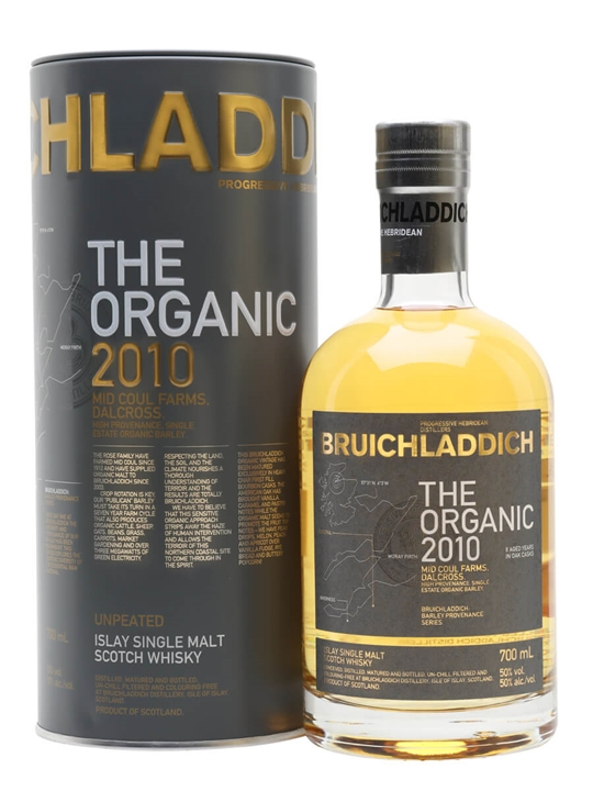 Bruichladdich Organic 2010 Islay Single Malt Scotch Whisky