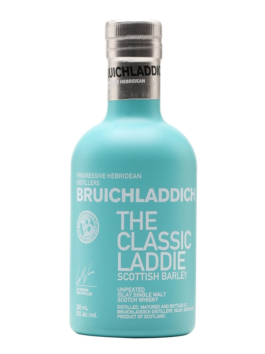 Bruichladdich Classic Laddie Scottish Barley / Small Bottle Islay Whisky