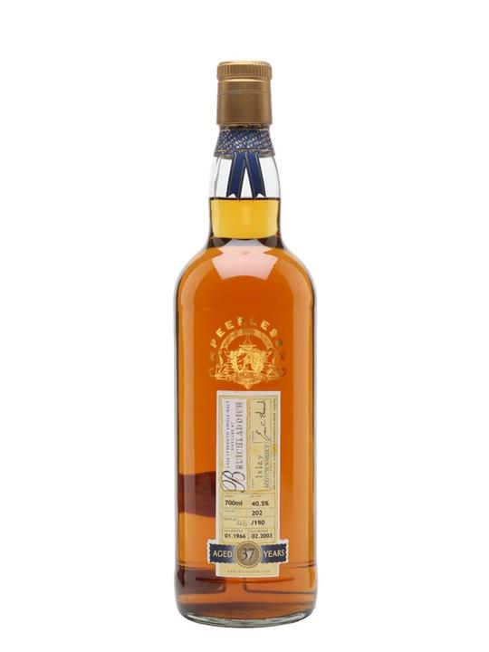 Bruichladdich 1966 / 37 Year Old / Cask #202 / Peerless Islay Whisky