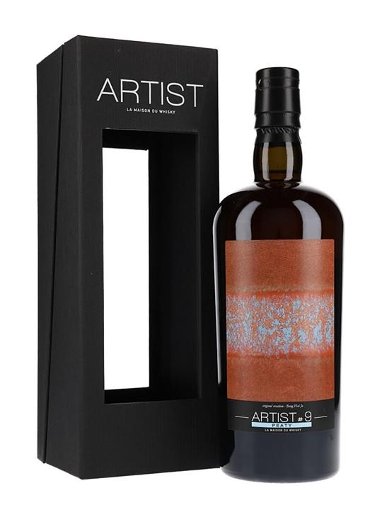 Bruichladdich 1990 / 25 Year Old /Peaty Artist #9 / SIG for LMDW Islay Whisky