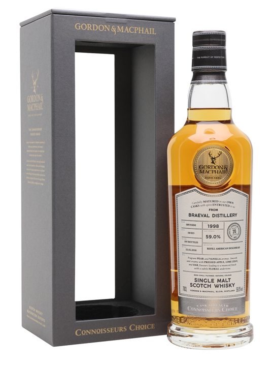 Braeval 1998 / 20 Year Old / Connoisseurs Choice Speyside Whisky