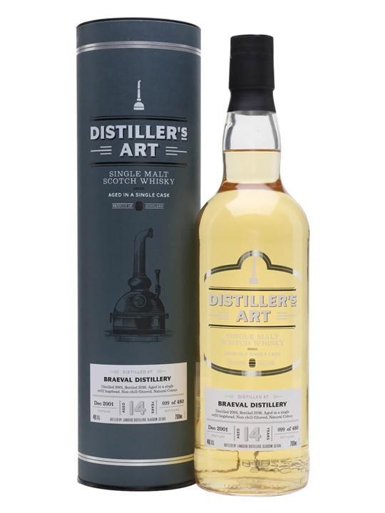 Braeval 14 Year Old / Distiller's Art Speyside Whisky