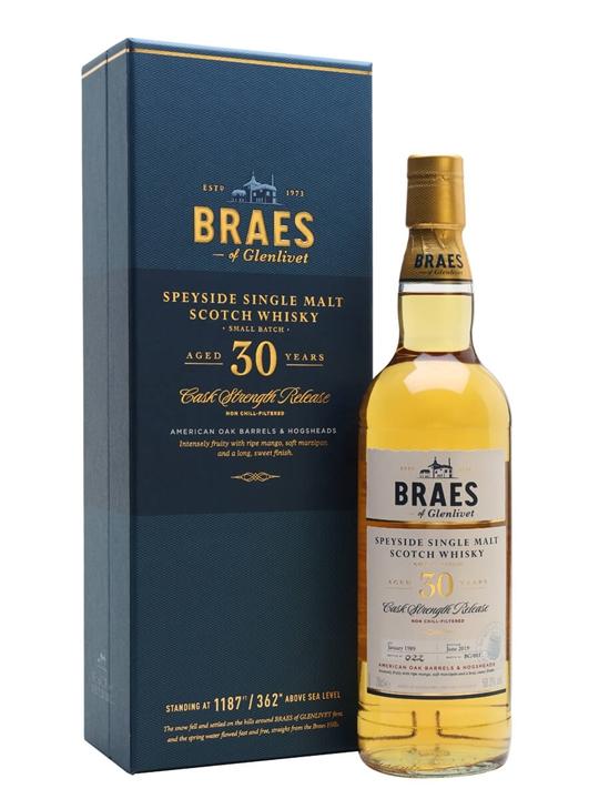 Braes Of Glenlivet 30 Year Old / Secret Speyside Speyside Whisky
