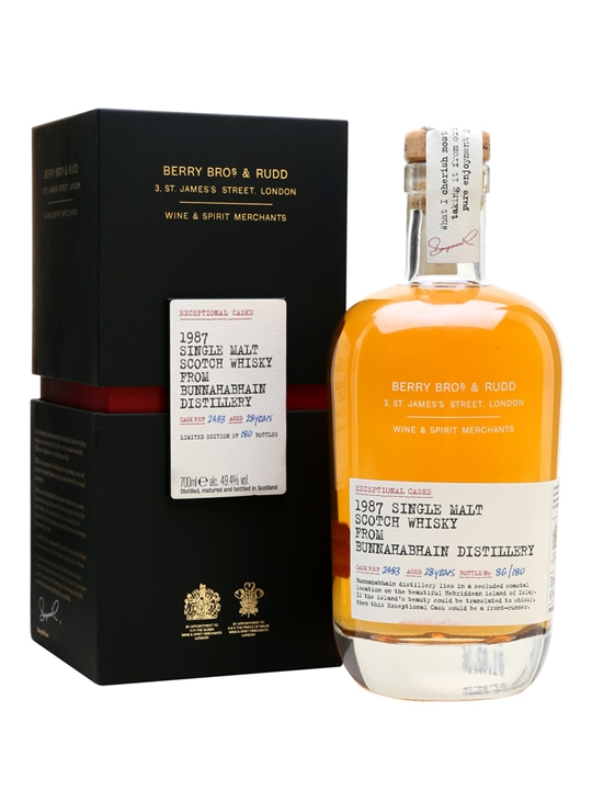 Bunnahabhain 1987 / 28 Year Old / Exceptional Casks Islay Whisky