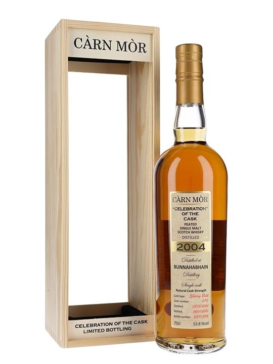Bunnahabhain Peated 2004 / 15 Year Old / Carn Mor Islay Whisky