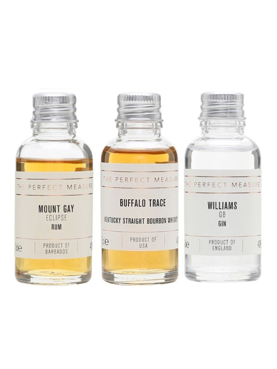 Perfect Measure Gin Collection / 3x3cl