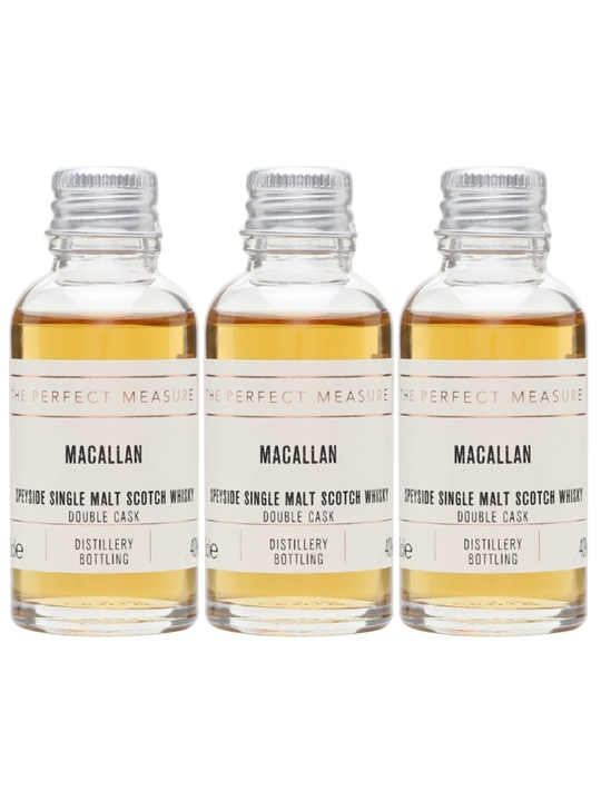 Macallan Double Cask Tasting Collection / 3x3cl Speyside Whisky