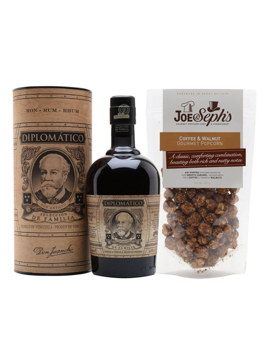 Diplomatico Rum and Coffee Popcorn Collection