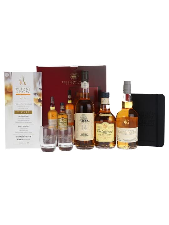 Whisky Show London 2017 Classic Malts Set + Extra Ticket Single Whisky