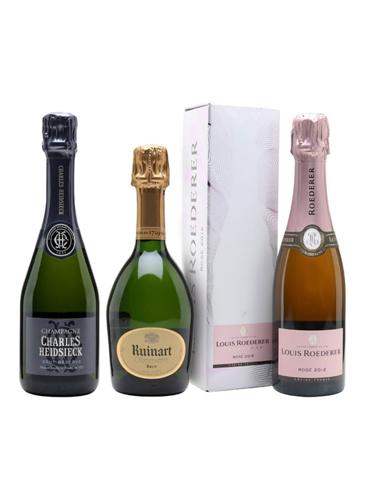 Champagne 101: How It's Made Tasting Collection / Virtual Champagne Show