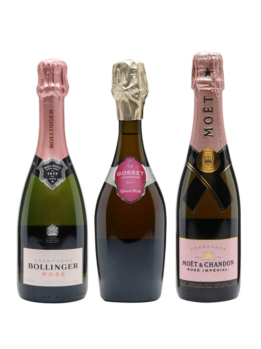 The Rise of Rose Champagne Tasting Collection / Virtual Champagne Show