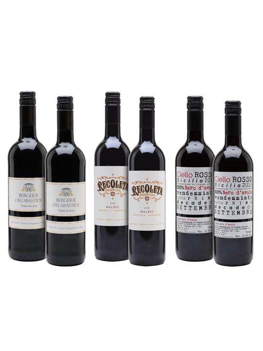 Winter Warmers Wine Case / 6 Bottles