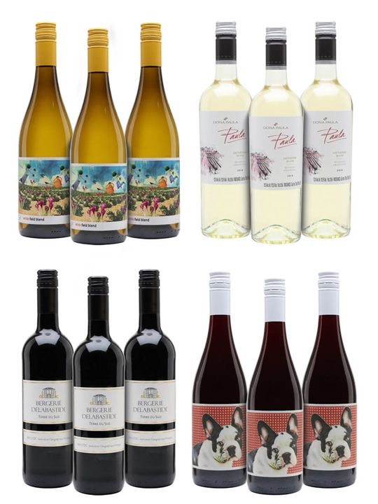 Evening Sippers Wine Case / 12 Bottles