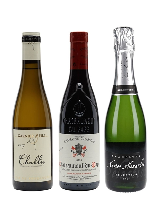 Date Night In Wine Collection / 3 Half Bottles