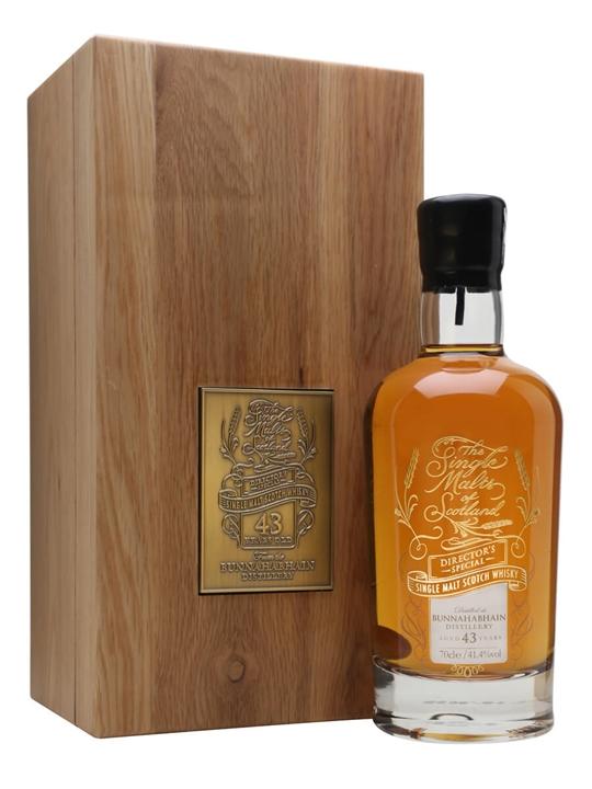Bunnahabhain 43 Year Old / Directors Special Islay Whisky
