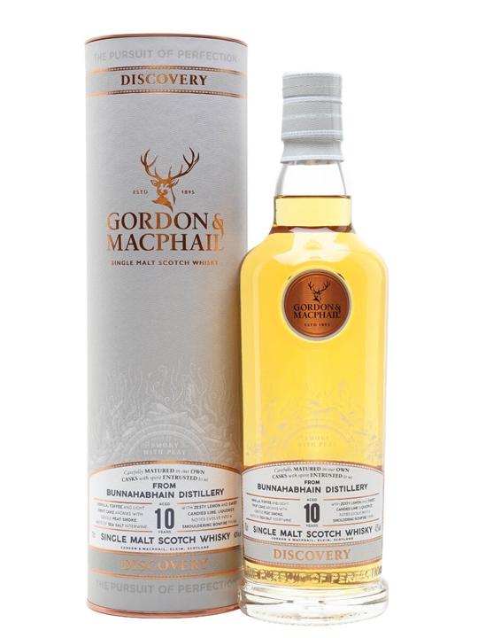 Bunnahabhain 10 Year Old / G&M Discovery Range Islay Whisky