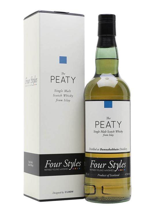Bunnahabhain Stoisha 2014 / The Peaty / Four Styles Islay Whisky