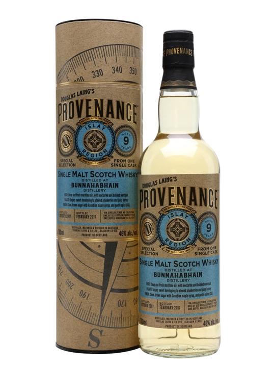 Bunnahabhain 2007 / 9 Year Old / Provenance Islay Whisky