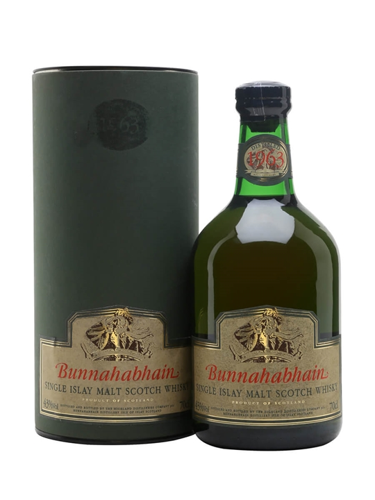 Bunnahabhain 1963 Islay Single Malt Scotch Whisky
