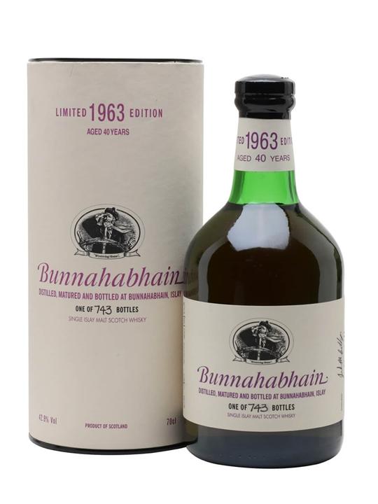 Bunnahabhain 1963 / 40 Year Old Islay Single Malt Scotch Whisky
