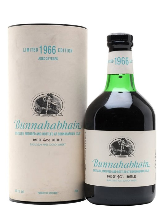 Bunnahabhain 1966 / 35 Year Old / Sherry Cask Islay Whisky