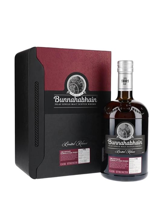 Bunnahabhain 1988 / Marsala Cask Islay Single Malt Scotch Whisky