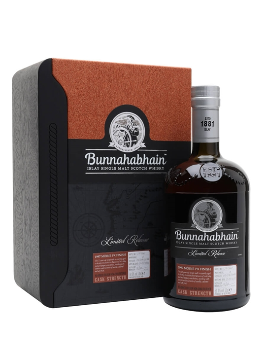Bunnahabhain Moine 1997 / 22 Year Old / PX Sherry Cask Islay Whisky
