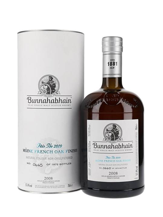 Bunnahabhain Moine 2008 / French Oak Finish / Feis Ile 2019 Islay Whisky
