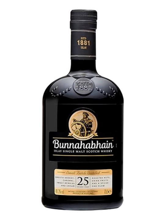 Bunnahabhain 25 Year Old / Old Presentation Islay Whisky