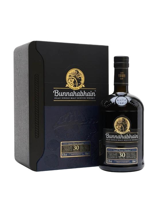 Bunnahabhain 30 Year Old Islay Single Malt Scotch Whisky