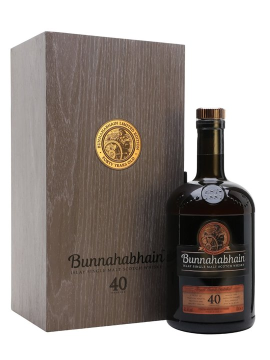 Bunnahabhain 40 Year Old / 2018 Release Islay Whisky