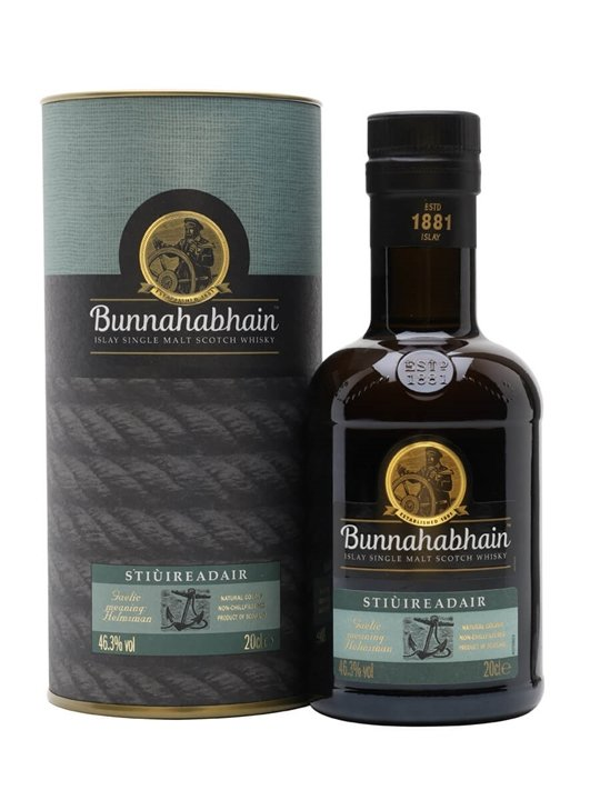 Bunnahabhain Stiuireadair / Small Bottle Islay Whisky