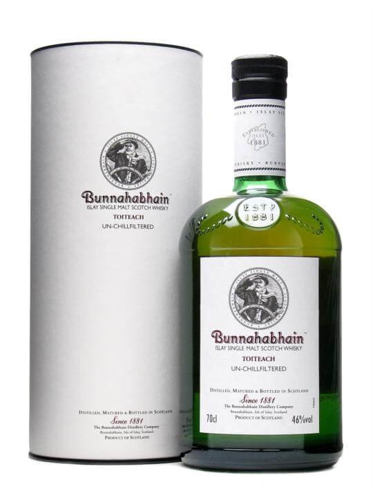 Bunnahabhain Toiteach Islay Single Malt Scotch Whisky