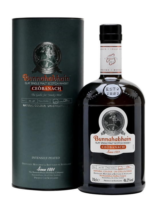 Bunnahabhain Ceobanach Islay Single Malt Scotch Whisky