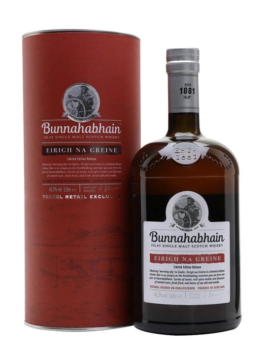 Bunnahabhain Eirigh Na Greine / Litre Islay Single Malt Scotch Whisky
