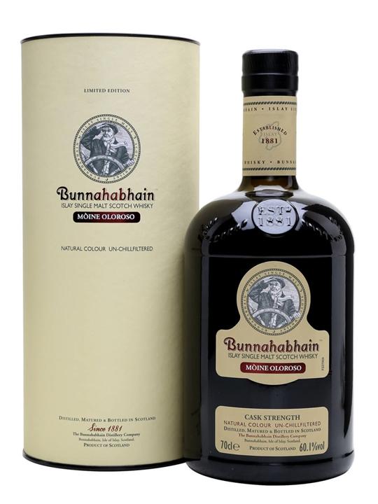 Bunnahabhain Moine Oloroso Islay Single Malt Scotch Whisky
