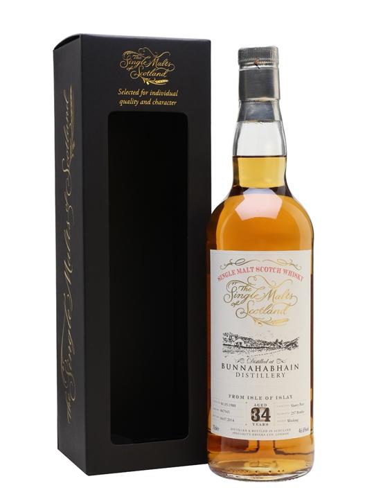 Bunnahabhain 1980 / 34 Year Old / Single Malts Of Scotland Islay Whisky