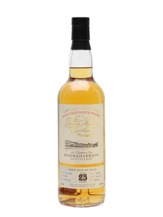 Bunnahabhain 1988 / 25 Year Old / Single Malts Of Scotland Islay Whisky