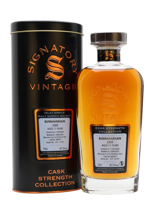 Bunnahabhain 2009 / 11 Year Old / Signatory Islay Whisky