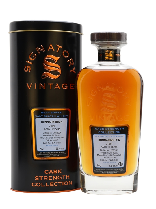 Bunnahabhain 2009 / 11 Year Old / Cask #900081 / Signatory Islay Whisky