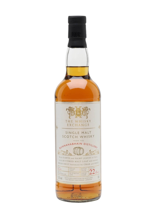 Bunnahabhain 1997 / 22 Year Old / The Whisky Exchange Islay Whisky