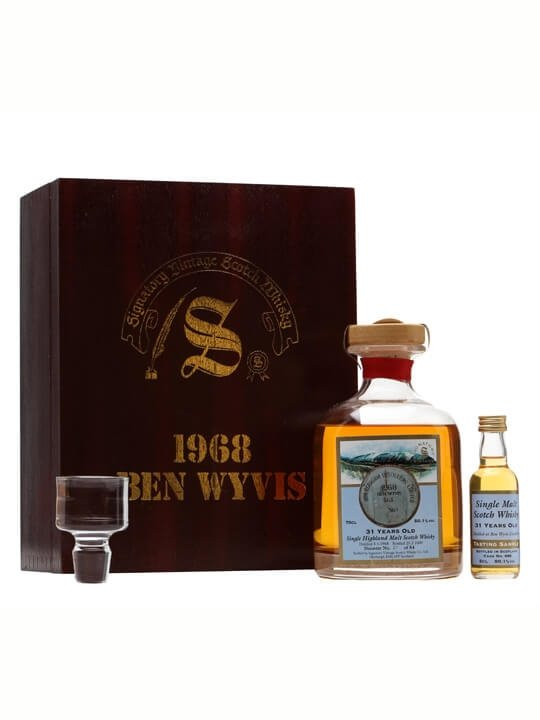 Ben Wyvis 1968 + Mini / 31 Year Old / Cask #686 Highland Whisky