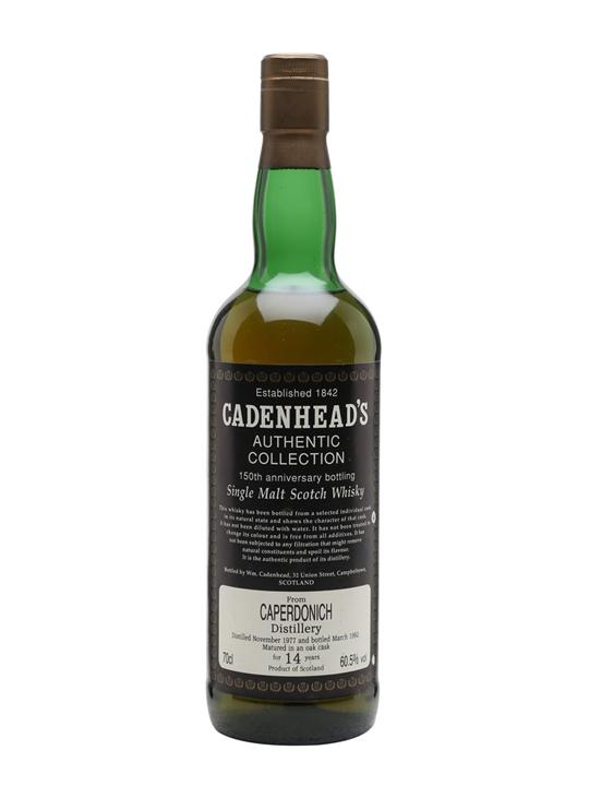 Caperdonich 1977 / 14 Year Old / Cadenhead's Speyside Whisky