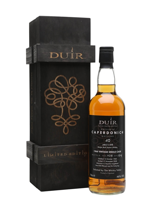 Caperdonich 1968 / 40 Year Old / Duir / Whisky Talker Speyside Whisky