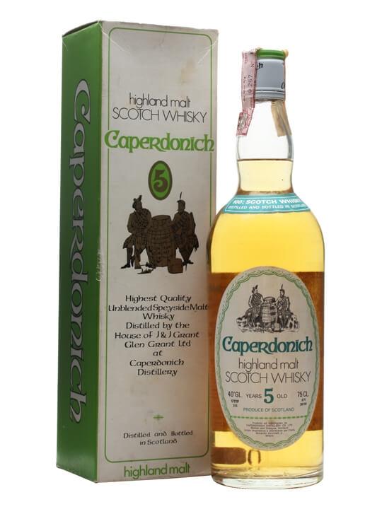 Caperdonich 5 Year Old / Bot. 1970s Speyside Single Malt Scotch Whisky
