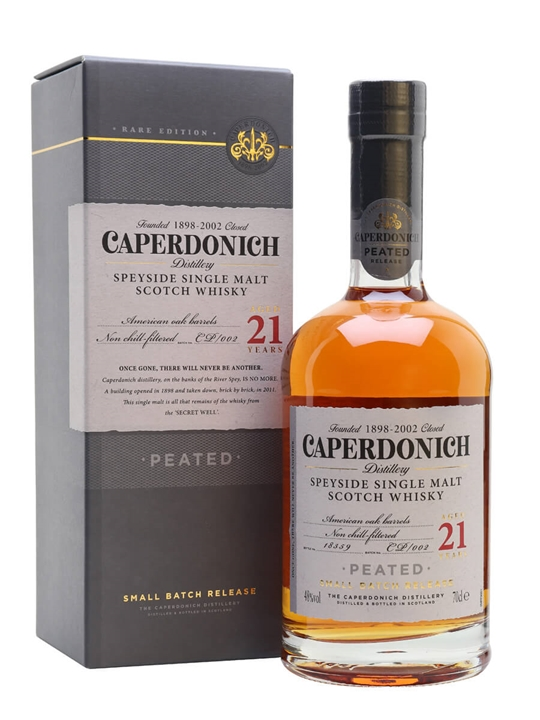 Caperdonich 21 Year Old Peated / Secret Speyside Speyside Whisky
